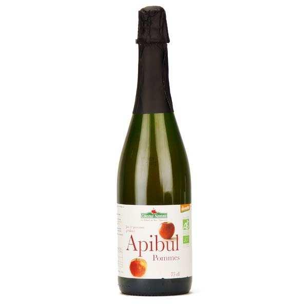 Jus de pommes pétillant Apibul bio
