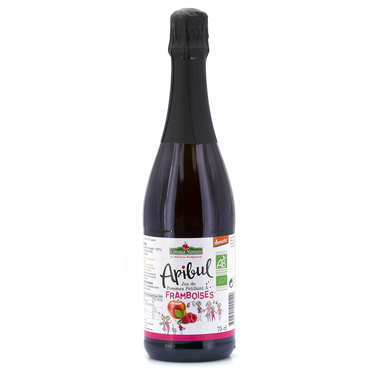 Organic Apibul applejuice and raspberries