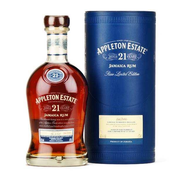 Appleton Estate 21 Year Old - Jamaïcan rum - 43%