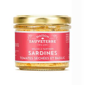 Bernard Marot - Sardine tomates séchées et basilic à tartiner