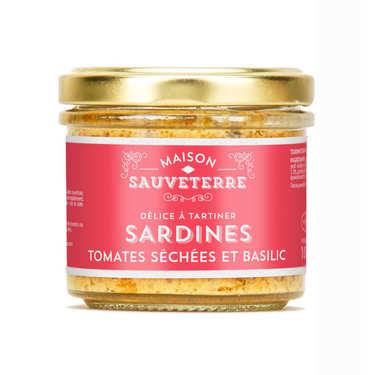 Sardine tomates séchées et basilic à tartiner