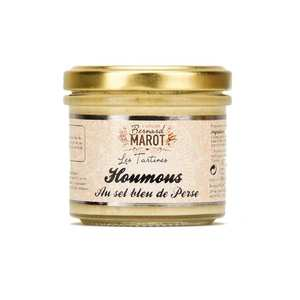 Bernard Marot - Hummus Blue salt of Persia spreads