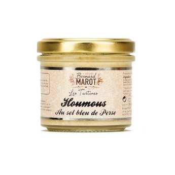 Bernard Marot - Hummus Blue salt of Persia spreads