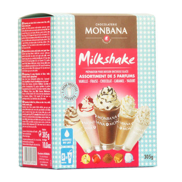 Milkshake frappé 5 parfums