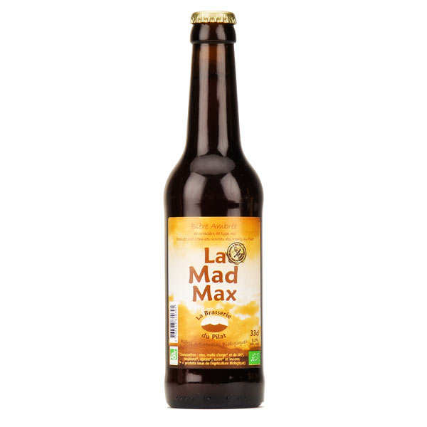 Bière ambrée bio Mad Max -5.5%