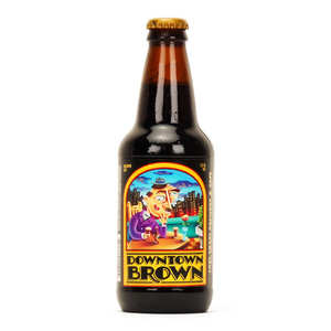 Lost Coast Brewery - Downtown Brown beer - 5%