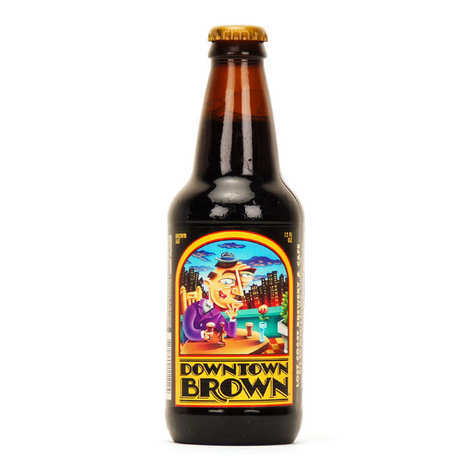 Lost Coast Brewery - Bière craft américaine brune Downtown Brown - 5%