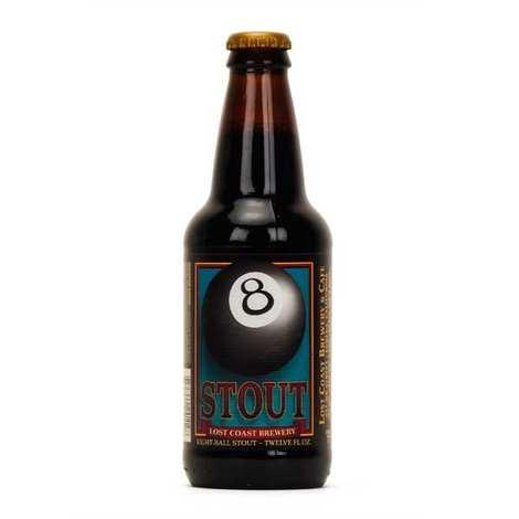 Lost Coast Brewery - Bière craft américaine brune Eightball Stout - 5,8%