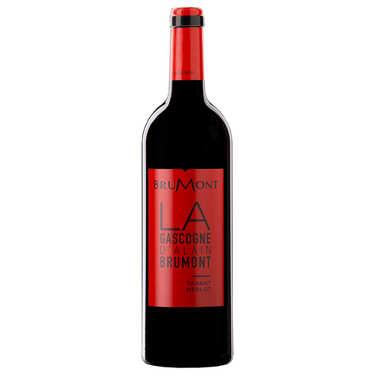 Red Wine Merlot-Tannat - Vin de Pays of Côtes de Gascogne - 13,5%