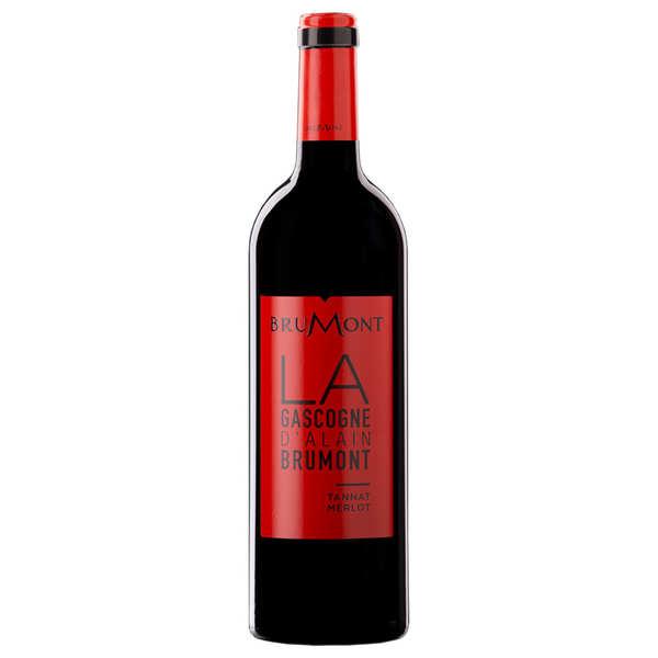 Merlot-Tannat rouge - Vin de Pays des côtes de Gascogne - 13,5%