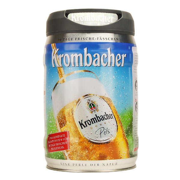 Bière blonde Krombacher Pils en fût - 4,8%