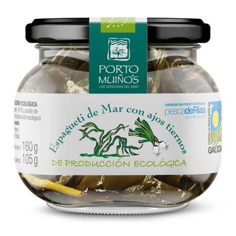 Porto Muinos - organic Sea spaghetti with young garlic