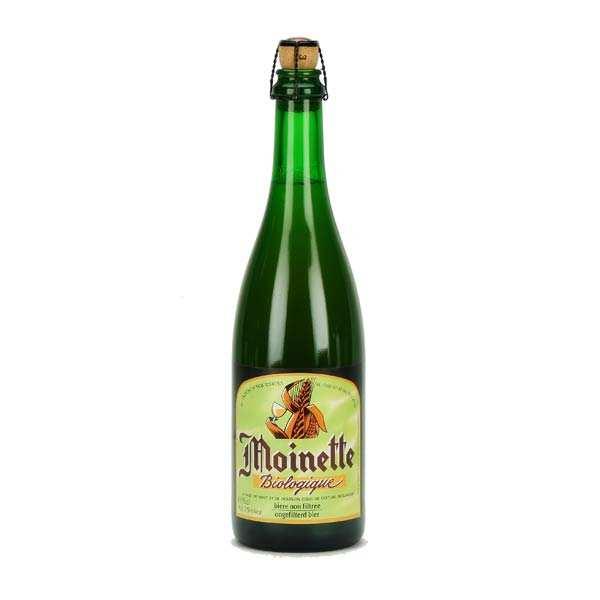 Bière blonde non filtrée Moinette Bio - 7,5%