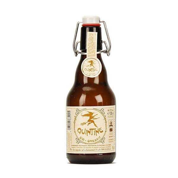 Quintine oragnic lager beer - 8%