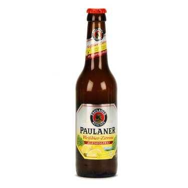Paulaner Weissbier Zitrone - bière blonde - sans alcool