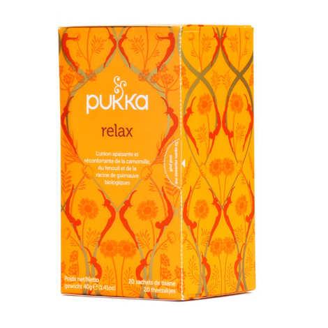Pukka herbs - Organic Ayurvedic Relax Herbal Tea - Pukka