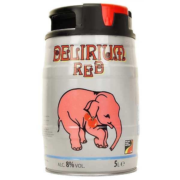 Delirium Red - Belgian Beer - 8%