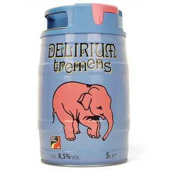 Brasserie Huyghe - Delirium Tremens - Bière blonde Belge en minifut - 8,5%