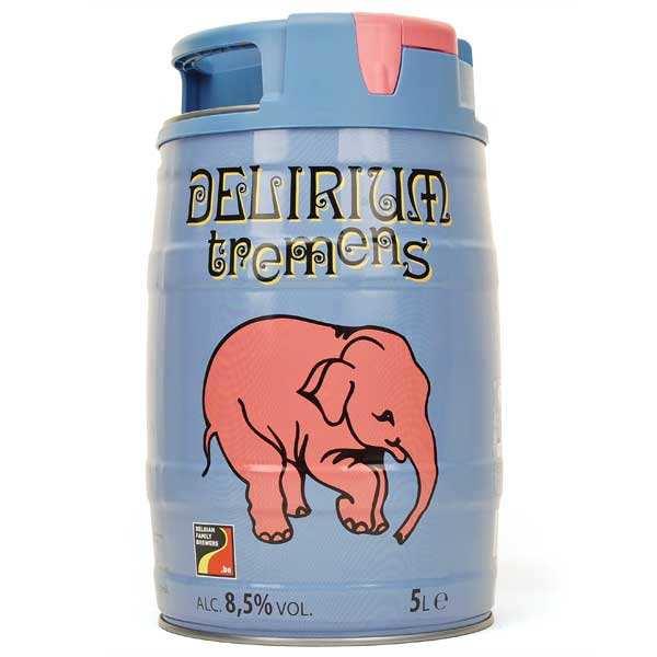 Delirium Tremens - Bière blonde Belge en minifut - 8,5%