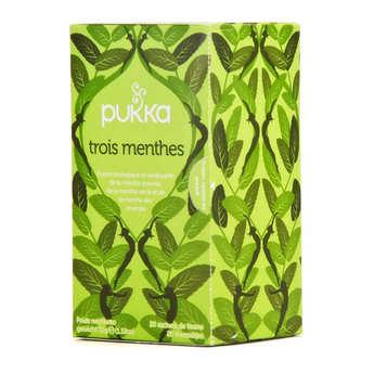 Pukka herbs - Organic Ayurvedic 3 Mint Herbal Tea