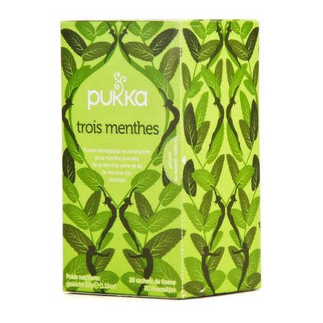 Pukka herbs - Organic Ayurvedic 3 Mint Herbal Tea Pukka