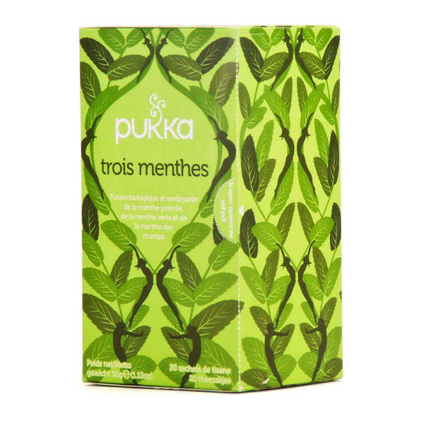 Organic Ayurvedic 3 Mint Herbal Tea