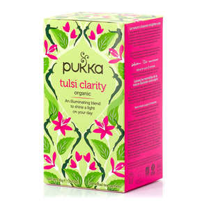 Pukka herbs - Organic Ayurvedic 3 tulsi Herbal Tea