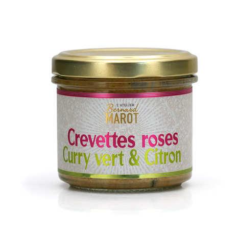 Bernard Marot - Pink shrimp green curry and lemon spread