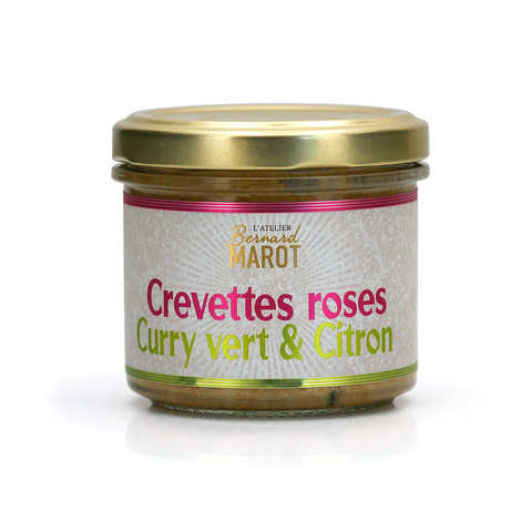 Bernard Marot - Crevette coco et citron à tartiner