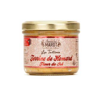 Bernard Marot - Homard et fleur de sel à tartiner