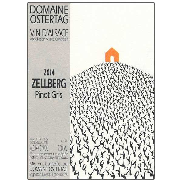 Organic Wine from Alsace - Pinot gris Zellberg