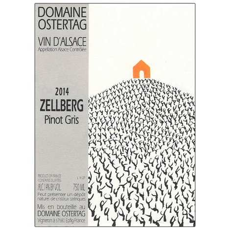 Domaine Ostertag - Organic Wine from Alsace - Pinot gris Zellberg