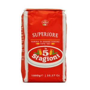 Le 5 Stagioni - Farine à pizza pro 5 stagioni bleue type 00 Superiore W330