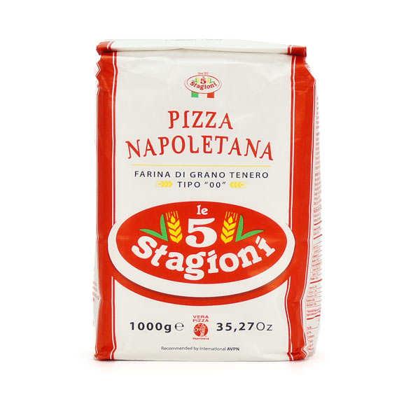farine 224 pizza napolitaine type 00 w300 le 5 stagioni