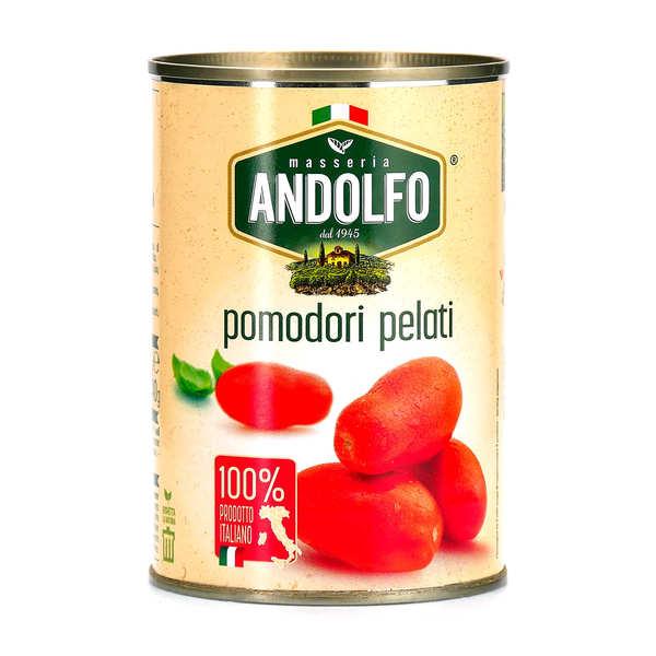 Tomates italiennes pelées au jus