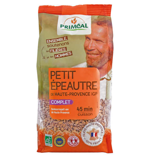 Organic small spelt from Haute Provence