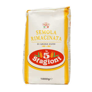 Le 5 Stagioni - Farine de semoule de blé italienne type 00