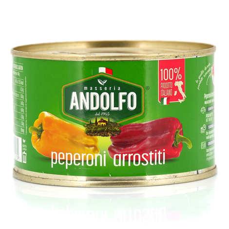Masseria Andolfo - Poivrons rôtis pelés Masseria Andolfo