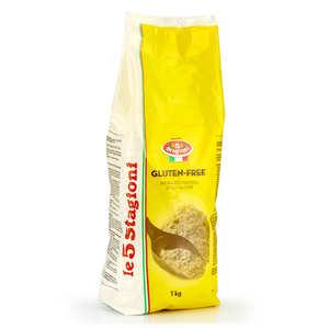 Le 5 Stagioni - Preparation for gluten free pizza