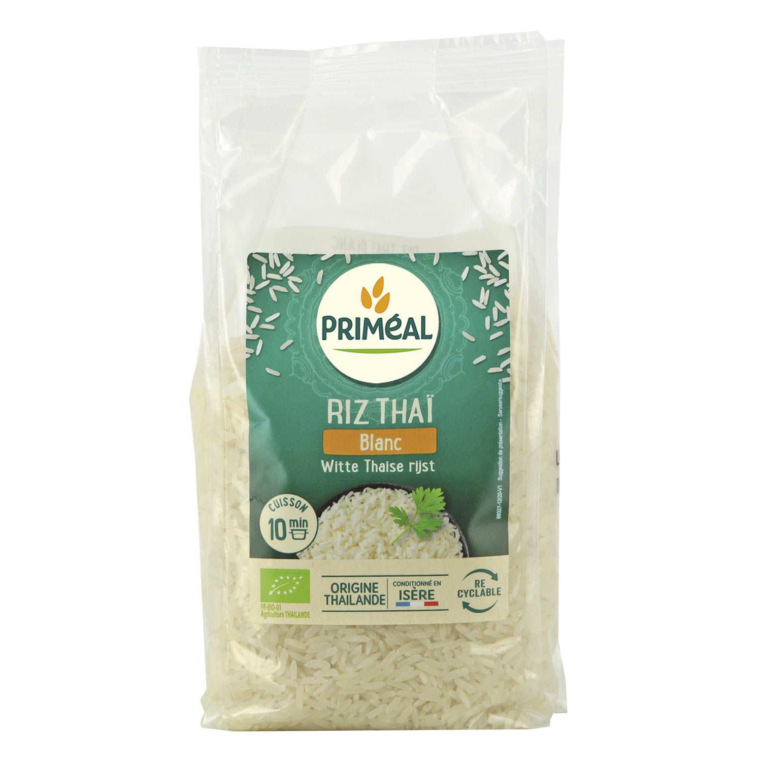 Riz thaï blanc bio