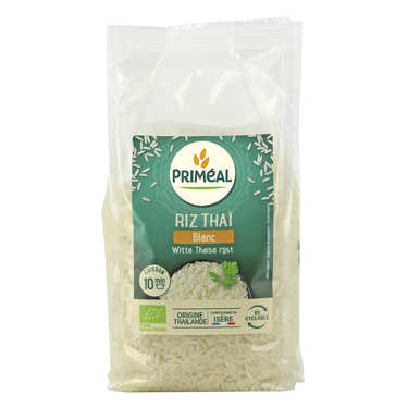 Organic thai white rice