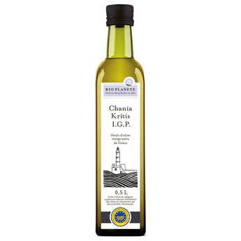 BioPlanète - Huile d'olive vierge extra de Crète Hania IGP Bio