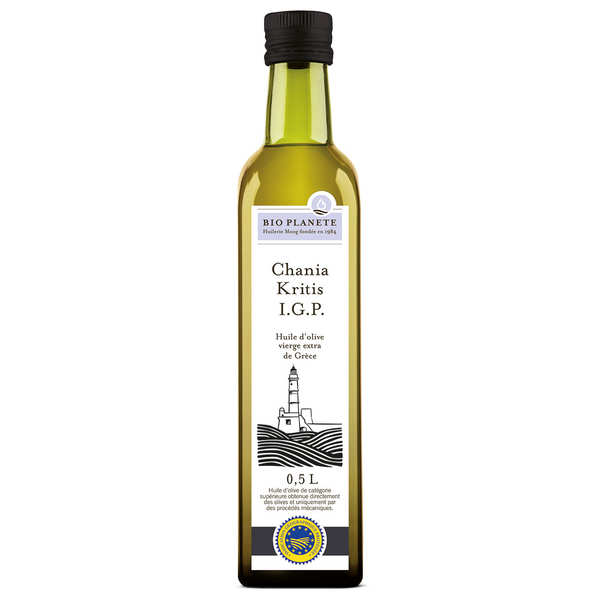 Organic extra virgin Greek olive oil - Hania IGP
