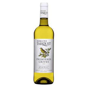Domaine du Tariquet - White Wine I.G.P Côtes de Gascogne - Premières Grives - 11.5%
