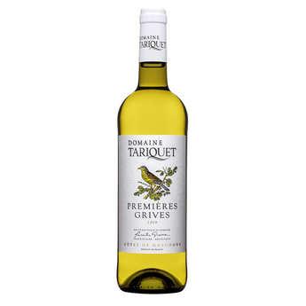 Domaine du Tariquet - White Wine I.G.P Côtes de Gascogne - Premières Grives