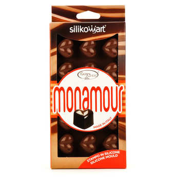 Silikomart - Moule silicone pour chocolat - coeurs