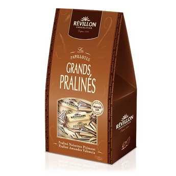 Revillon chocolatier - Papillotes Révillon Grands Pralinés lait