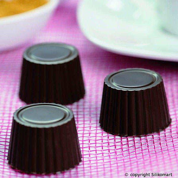 Moule silicone pour chocolat - pralinés