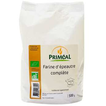 Priméal - Farine complète d'épeautre bio
