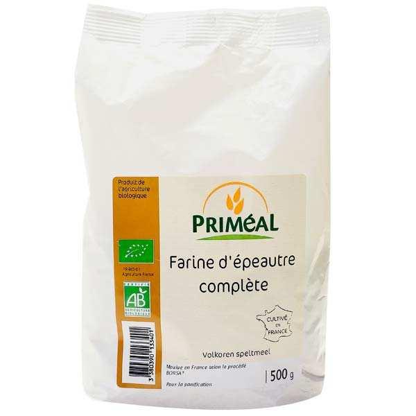 Organic whole spelt flour